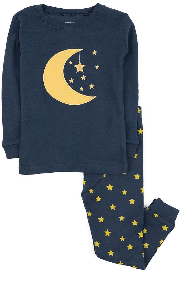 Navy Moon & Star Pajama Set - Infant, Toddler & Kids