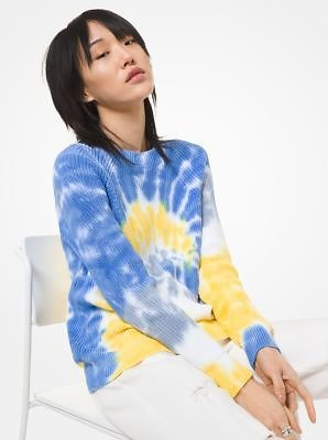 Tie Dye Supima Cotton Sweater | Michael Kors