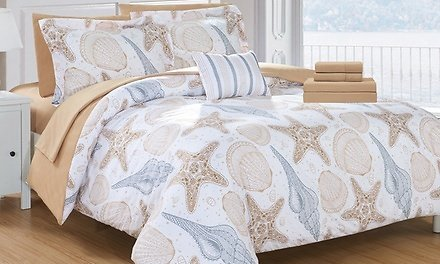 Coastal Comforter or Quilt Sets (Multiple Options Available)