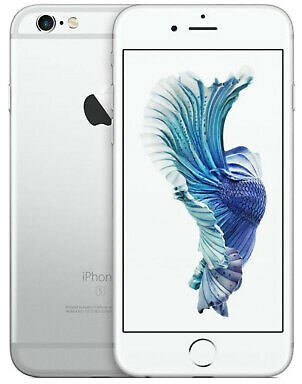 Apple IPhone 6s 64GB Verizon GSM Unlocked T-Mobile AT&T LTE Smartphone - Silver