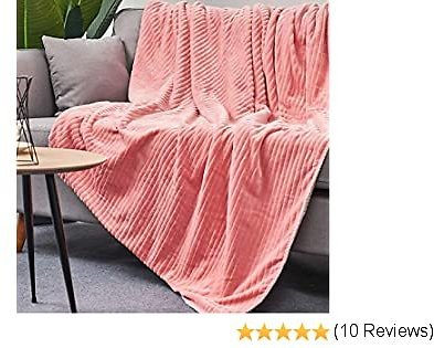 LALIFIT Sherpa Fleece Blanket Fuzzy Soft Bed Blanket Pink Plush Throw Blankets for Home Decoration Couch Sofa Size Etc 60