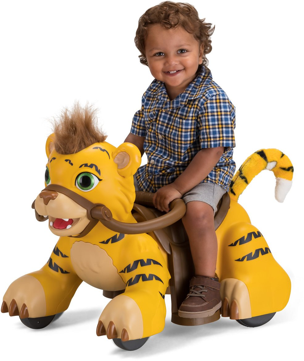 Rideamals Tiger Ride-On Toy By Kid Trax (3 Options)