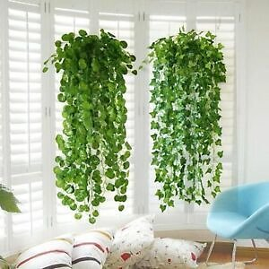 Artificial Green Leaf Ivy Wall Decor Room Decoration Fake Plants