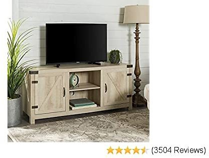 Furniture Company Farmhouse Barn Wood Universal Stand for TV's Up to 64
