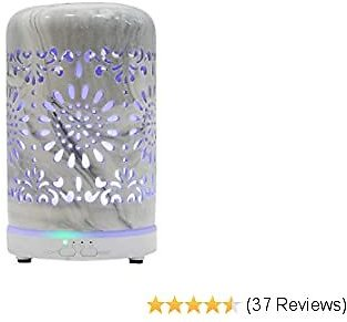 Extra 50% Off Ceramic Oil Diffusers for Essential Oils for Home, Small Vintage Oils Aromatherapy Diffuser