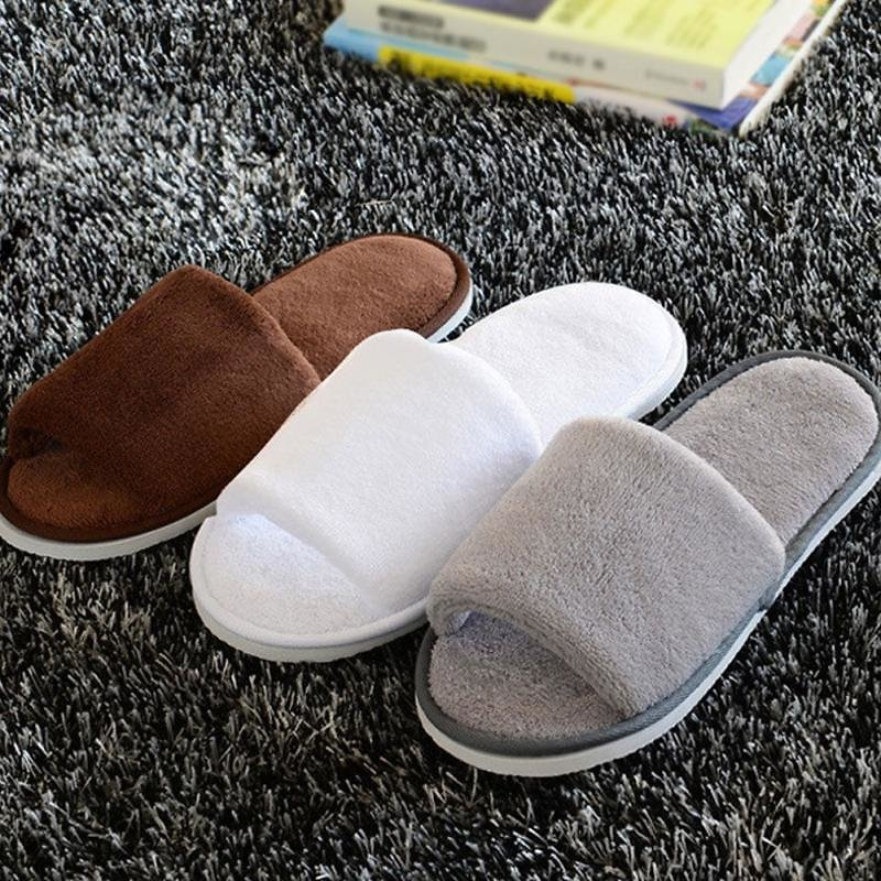 New Women Men Home Anti-slip Shoes Soft Winter Warm Sandal House Indoor Slippers Indoor Home Slippers Warm Flat Shoes