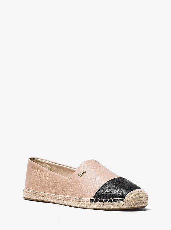 Kendrick Leather Slip-On Espadrille