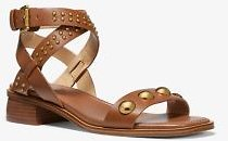 Garner Studded Leather Sandal | Michael Kors