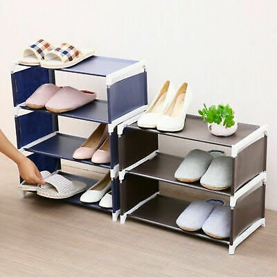 Home Shoe Rack Storage Organizer Cabinet Shelf Space Saver Stand for 6/8/10 Pair