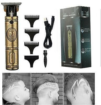 Pro Hair Clippers Trimmer Shaver Machine Cutting Beard Cordless Barber Kit US