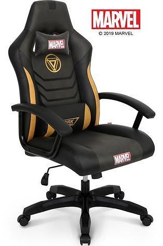 MARVEL Avengers Iron Man Big & Wide 330 Lbs Gaming Chair