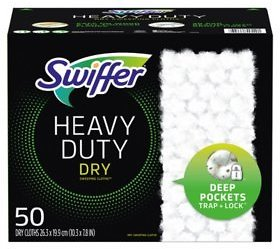 Swiffer Sweeper Heavy Duty Dry Sweeping Cloths (50 Ct.) - Sam's Club