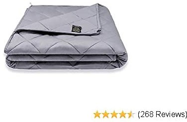 YOLIPULI Weighted Blanket for Kids 7 Lbs, 40