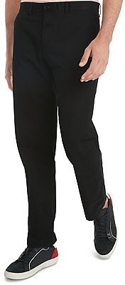 Tommy Hilfiger Men's Custom-Fit Tailored Stretch Chino Pants, Created for Macy's & Reviews - Pants - Men