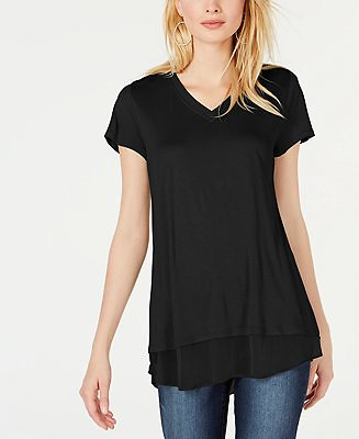 INC International Concepts INC V-Neck Tunic, Created for Macy's & Reviews - Women