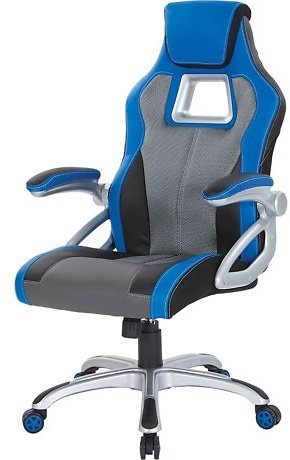 Office Star Products Racing Chair - Leather