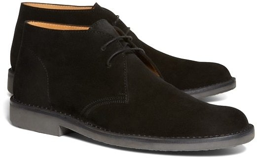 Men's Suede Field Chukka Boots | Brooks Brothers