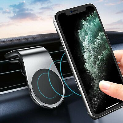 Magnetic Car Phone Holder Air Vent Clip Mount Magnet Stand For Mobile Cell Phone