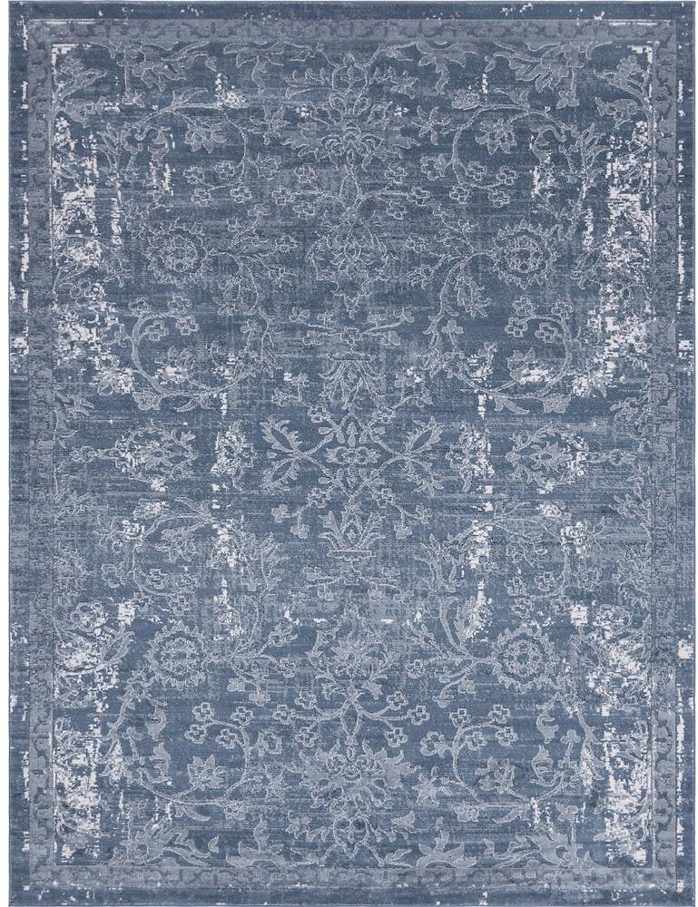 Unique Loom Portland Albany Blue 9 Ft. X 12 Ft. Area Rug-3147396
