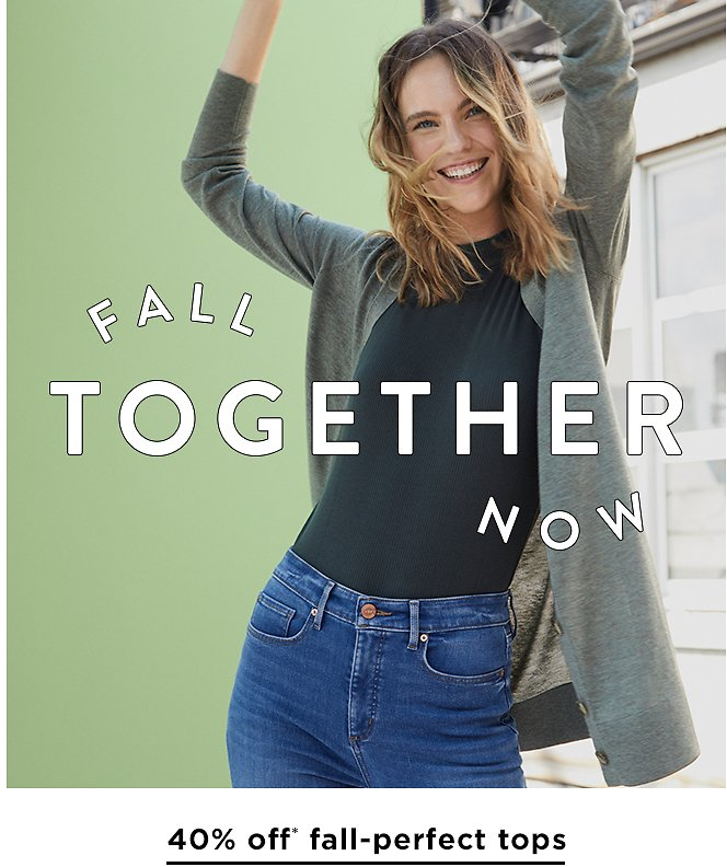 40% Off Full Priced Tops & 50% Off Buy 2