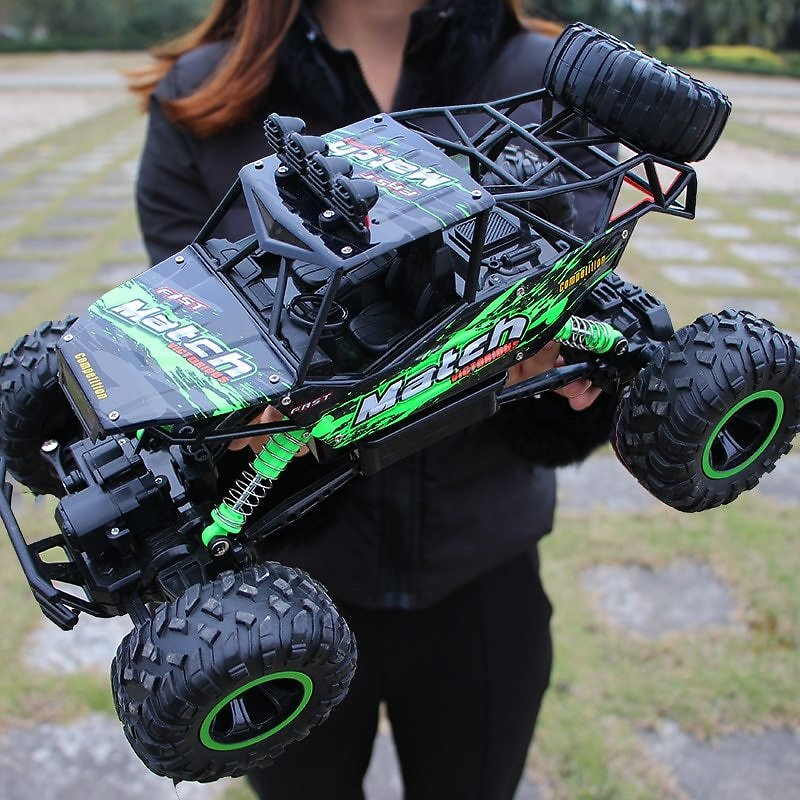 US $11.99 60% OFF|Hipac 1:12 4WD RC Car Updated Version 2.4G Radio Control Car Toys Buggy Off Road Remote Control Trucks Boys Toys for Children|RC Cars| - AliExpress
