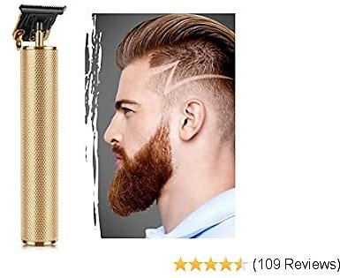 Electric Pro Li Outliner Hair Clippers Cordless Rechargeable Grooming Kits T-Blade Close Cutting Trimmer for Men Gap Baldhead Beard Shaver Barbershop Professional