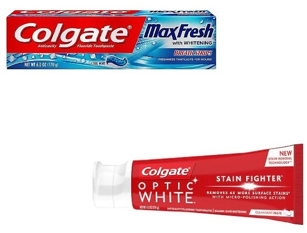 2 for $1.98 Colgate Toothpaste (Mult. Options)