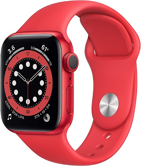 New Apple Watch Series 6 (GPS, 40mm) Red