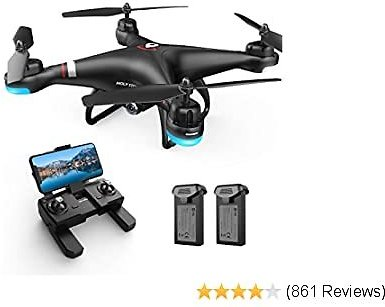 Holy Stone GPS FPV Drone with 1080P HD Live Video Camera for Adults and Kids, RC Quadcopter with GPS Auto Return Home