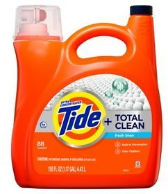 Tide Total Clean Ultra Concentrated Liquid Laundry Detergent, Fresh Linen (88 Loads,150 Fl Oz.) - Sam's Club