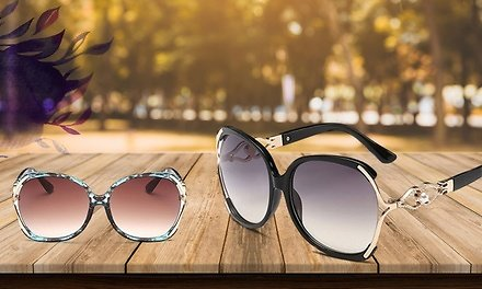 One, Two, or Three Pairs of Luxury Party Point Oversized Sunglasses from Novadab (Up to 89% Off)