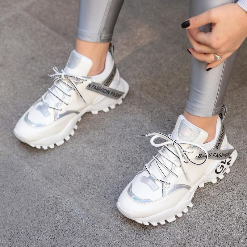 US $30.4 60% OFF|Atalante White Sneaker Vulcanize New Fashion Sport Outdoor Running Sneakers Womens Shoes Walking Jogging Shoes Spring|Women's Vulcanize Shoes| - AliExpress