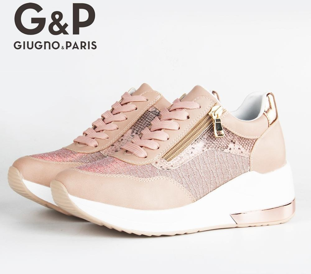 US $29.99 52% OFF Brand Sneakers Women Breathable Shoes New Design 2020 Casual Platform Wedge Fashion Sneaker With Zipper Easy to Wear Women's Vulcanize Shoes  - AliExpress