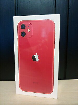 Brand New Sealed Apple IPhone 11 - 128GB - A2221 (Product) RED Unlocked