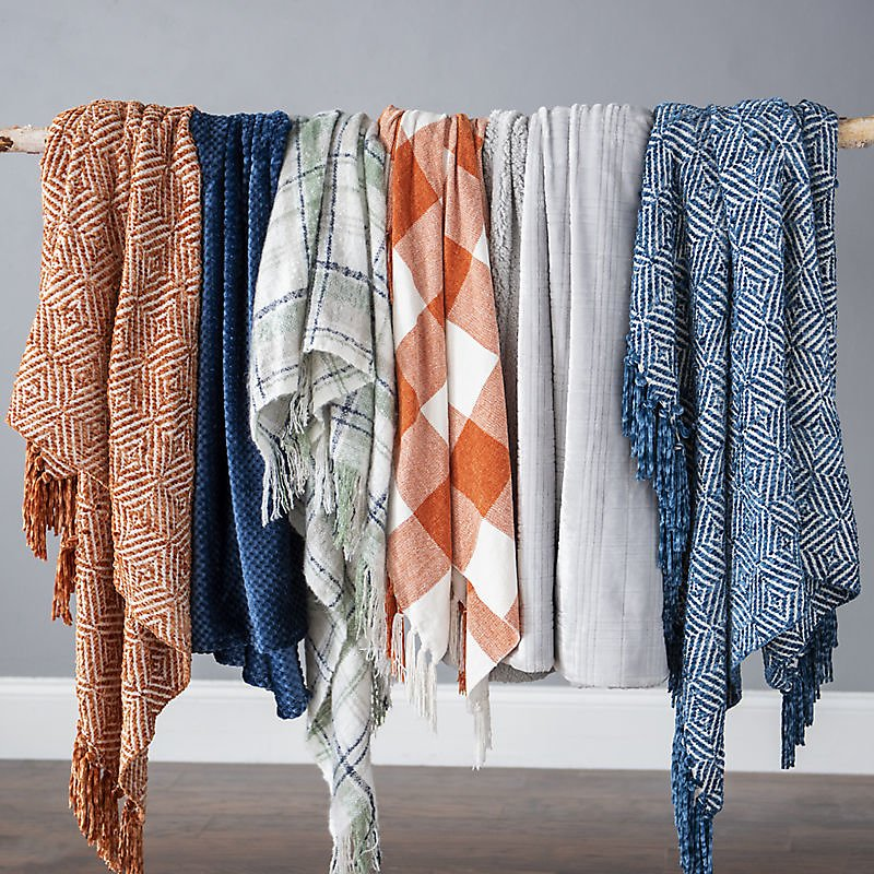 $10 Throw Blankets (Multiple Options)
