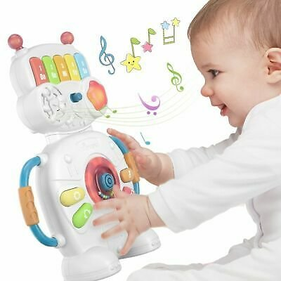 Kids Piano Music Toys Robot Educational Musical Instruments For Infant Children