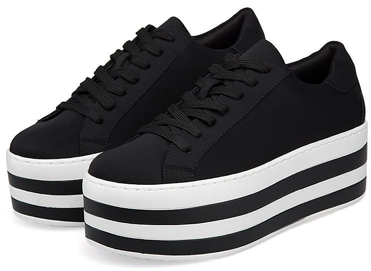 US $23.59 66% OFF|Women Platform Sneakers 2020 Fashion Casual Shoes Female Thick Soled Trainers Walking Shoes Brand Lycra Ladies Vulcanize Shoes|Women's Vulcanize Shoes| - AliExpress