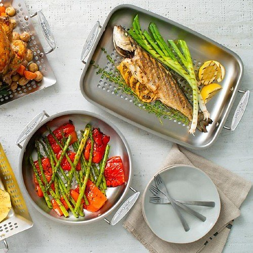 All-Clad Stainless Steel Roaster