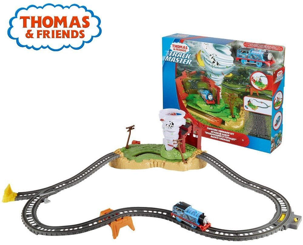 Thomas and Friends Track Master Twisting Tornado Set Kid Toys Train Track Indoor Children Toy For Christmas Gift