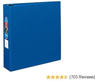 AVERY 79882 Heavy-Duty Binder with One Touch EZD Rings, 11 X 8 1/2, 2