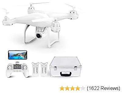 GPS Drone, FPV RC Drone with Camera 1080P HD WiFi Live Video,