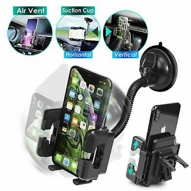 Universal Car Windshield Air Vent Suction Cup Mount Holder Stand for Cell Phone 190152000109