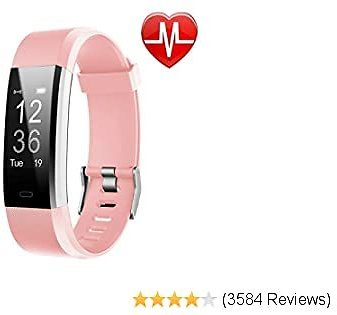 LETSCOM Fitness Tracker HR, Activity Tracker Watch with Heart Rate Monitor, Waterproof Smart Fitness Band 2020