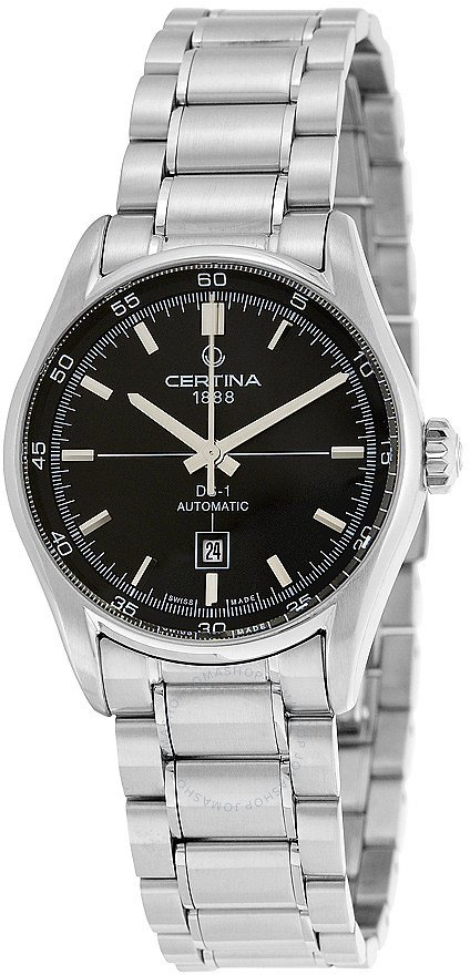 Certina DS 1 Lady Automatic Black Dial Ladies Watch