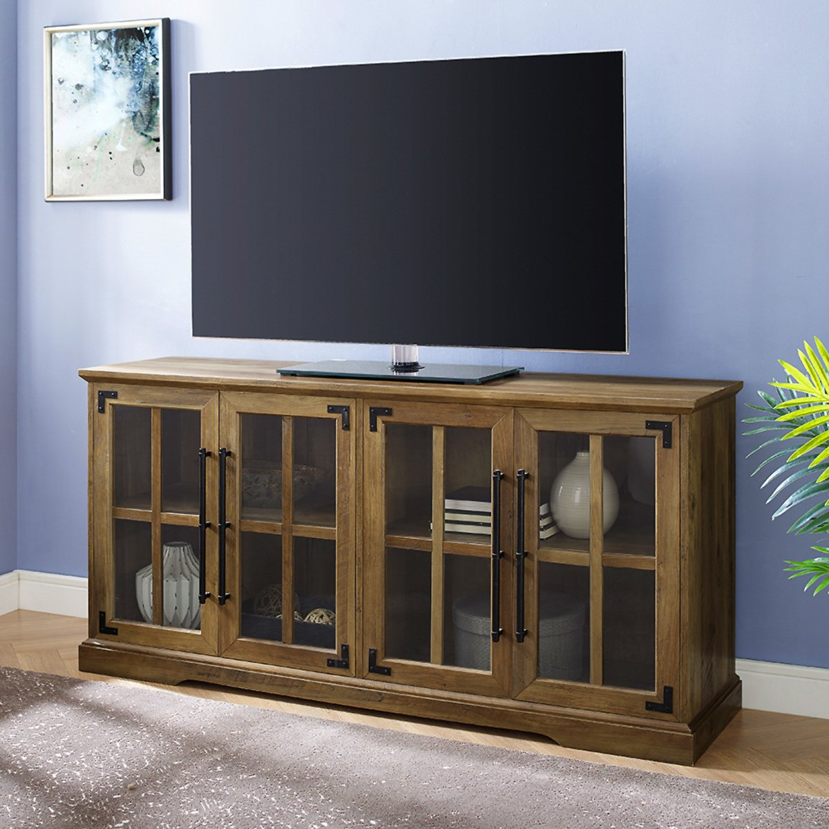Manor Park Farmhouse TV Stand for TVs Up to 65