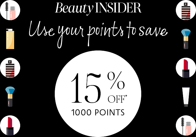 Up to 15% Off With Points Used - Sephora