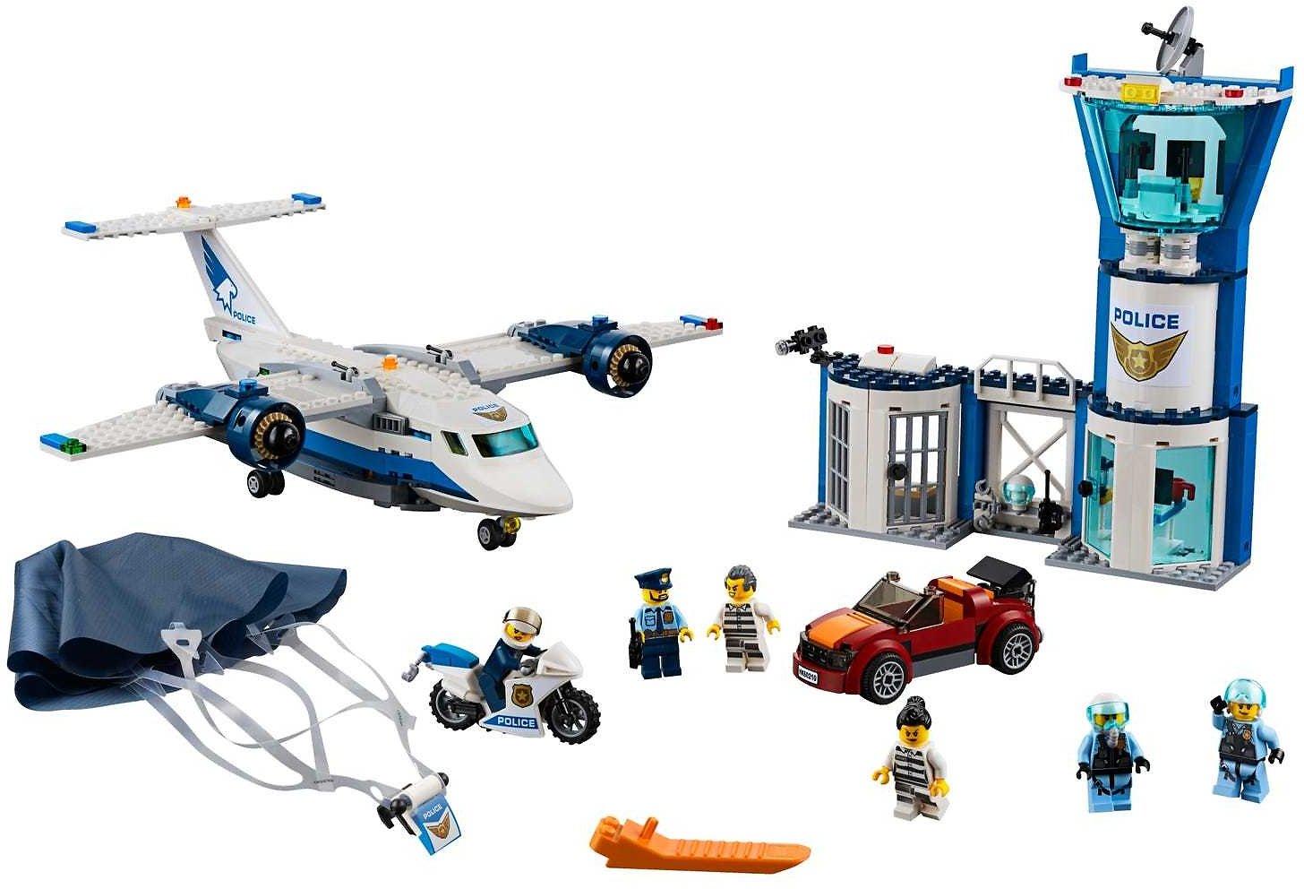 Sky Police Air Base 60210 | City | Buy Online At The Official LEGO® Shop US