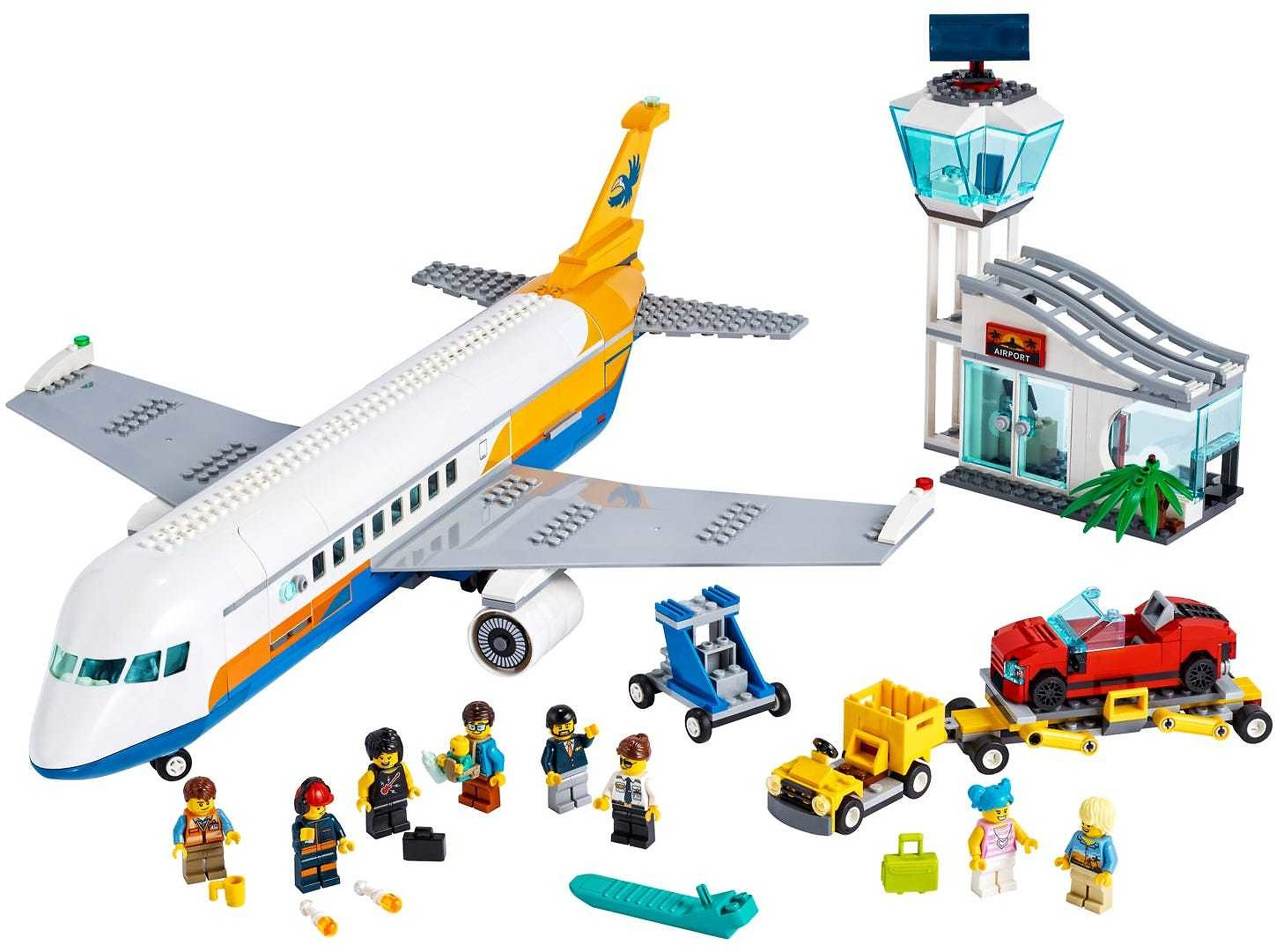 Passenger Airplane 60262 | City | Buy Online At The Official LEGO® Shop US