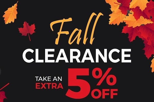 Fall Clearance Blowout! EXTRA 5% OFF: TVs, Tablets, Cameras and More!