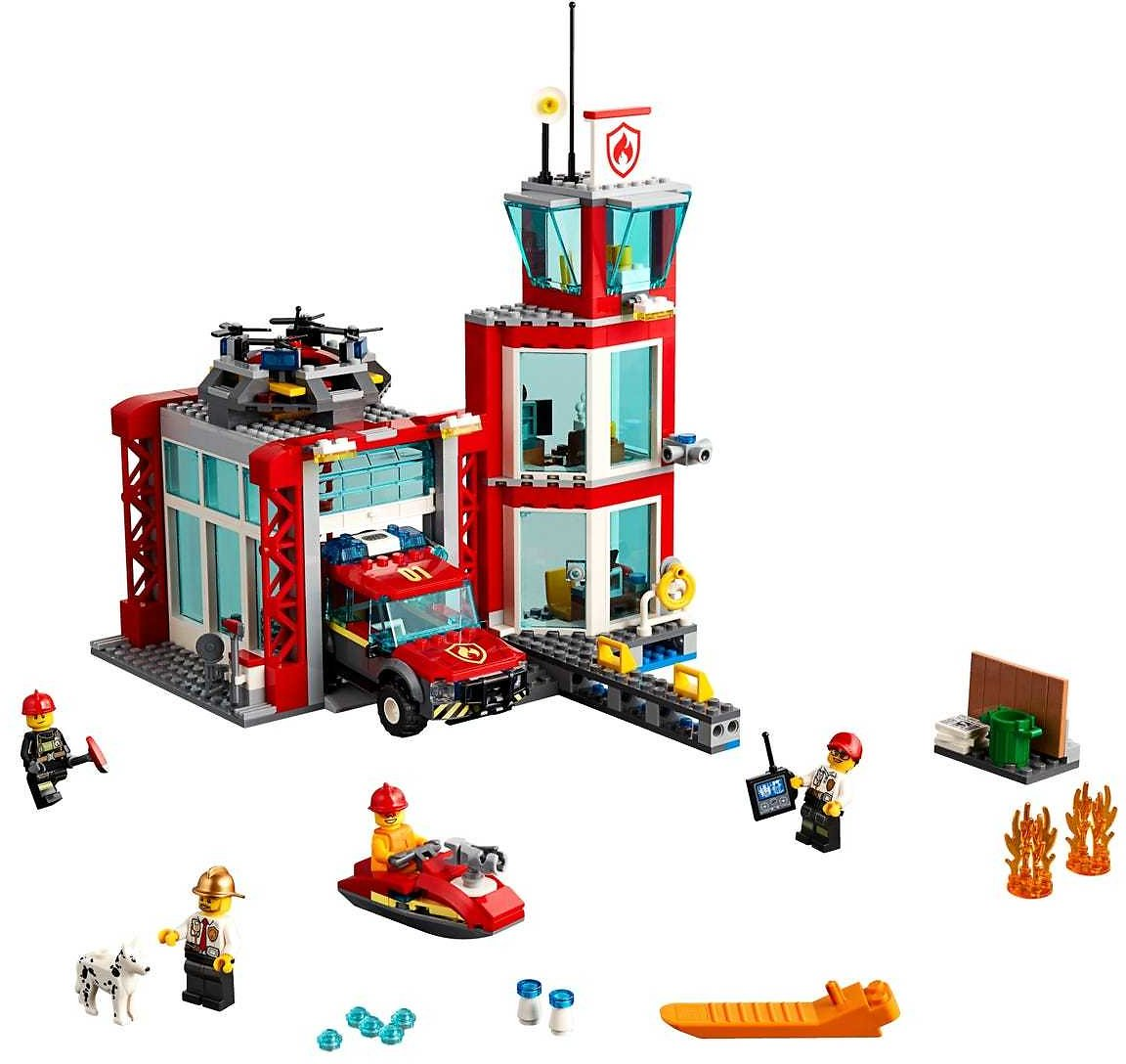 Fire Station 60215 | City | Buy Online At The Official LEGO® Shop US
